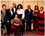 With Oprah and Ruby Dee