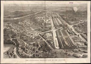 Centennial-balloon view of the grounds