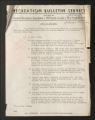 "Publications. Bulletins, 1918-1960. """"Colored Workers"""" Bulletins, circa, 1945-1950. June 1945 - October 1945. (Box 55, Folder 23)"
