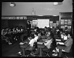 Mrs Strong - Public school demonstrations, English Dep[ar]t[ment], March 1950 [cellulose acetate photonegative]