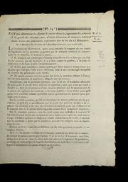 Loi qui détermine les formes à suivre dans le jugement des préposés à la garde des détenus, qui, d'après l'évasion de ceux-ci, seraient dans le cas des poursuites ordonnées par la loi du 13 brumaire : du 3 messidor, l'an deuxième de la République française, une et indivisible
