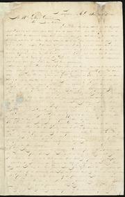 Letter to] Mr. W. Lloyd Garrison, My Dear Friend [manuscript