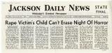 Rape Victim's Child Can't Erase Night of Horror