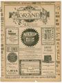 """A Royal Prisoner"" theater program, Bijou Opera House, Minneapolis, Minnesota"