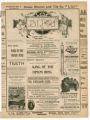 """Siberia"" theater program, Bijou Opera House, Minneapolis, Minnesota"