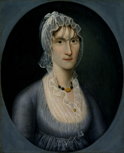 Portrait of Mrs. Barbara Baker Murphy (Wife of Sea Captain)