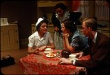 """Scene from Young People's Theatre production of """"Seven Little Rebels"""" performed at Kingsbury Hall, University of Utah, January 16-17, 1953 [6]"""