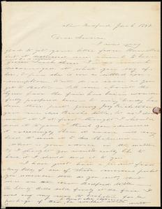 Letter from Deborah Weston, New Bedford, [Mass.], to Anne Warren Weston, Jan. 2, 1840