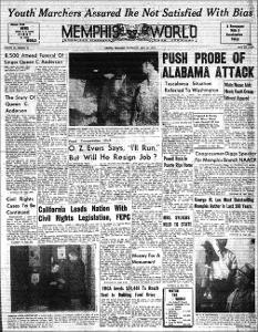 Memphis World, 1959 April 22nd