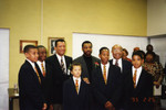 Honorees Carter, Burton, and Comer and African American Male Achievers Network at African American Living Legends Program