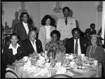 California Association of Black Lawyers members in a group portrait, Los Angeles, 1983