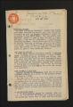"Publications. Bulletins, 1918-1960. """"Colored Workers"""" Bulletins, circa, 1945-1950. January 1949 - June 1949. (Box 56, Folder 5)"