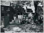 Negro slum area between D and C Streets off 1st Street, SW, Washington, D.C.; Most houses have five small rooms renting for $20.50 a month, with rear wood kitchen shed, cold water, outdoor privy