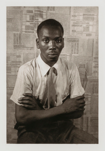 Jacob Lawrence, from the portfolio 'O, Write My Name': American Portraits, Harlem Heroes