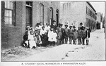 Student social workers in a Washington Alley
