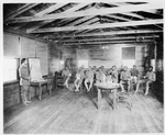 #265. Class of illiterates, Army Y.M.C.A. Building No. 1, Camp Travis, Texas