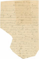 Letter from Thomas B. Hall in Catoosa County, Georgia, to his father, Bolling, in Alabama.