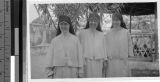 Three Maryknoll Sisters, Loting, China, June 1, 1938