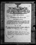 """Photograph of Guatemalan telegraph documenting """"Jesse Carson"""" pseudonym used by Clara Phillips, circa 1923"""
