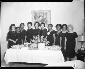 A.K.A. [Alpha Kappa Alpha] Initiate Graduate Chapter, April 1963 [cellulose acetate photonegative]