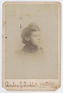 Unknown African American Woman with Lace Collar