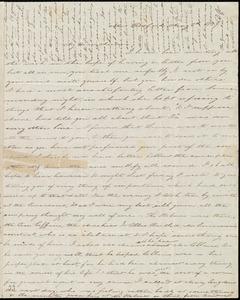 Letter from Deborah Weston, New Bedford, [Mass.], to Anne Warren Weston, May 3'd, 1839