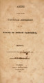 Acts passed by the General Assembly of the State of North Carolina [1826] Laws of the State of North-Carolina.