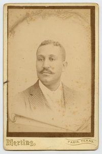 Portrait of a Middle Aged African-American Man With Facial Hair