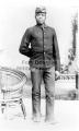 Unknown black soldier, Fort Douglas
