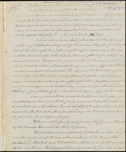 Copy of letter from Sarah Parkman Shaw Russell to Samuel May, [June 21,] 1872