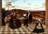 Colonel and Mrs. James A Whiteside, Son Charles and Servants