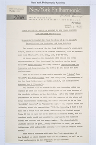Press Releases, Jan 03, 1964 - Aug 14, 1964