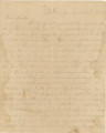 Letter from Alex K. Hall in camp in either Georgia or Tennessee, to his mother, probably in Portland, Alabama.