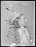 Dakota man, Troubling Hawk. U. S. Indian School, St Louis, Missouri 1904