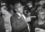 Congressman-elect James Clyburn celebrates his victory with wife Emily