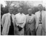 Tom Santwan, Lawrence Burr, Dalton McClelland, Hal Horne