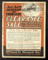 Clearance Sale and Grocery Catalogue of the M.W. Savage Company, Minneapolis, Minnesota