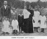 James Walker and family