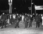 Police stand on alert, Watts