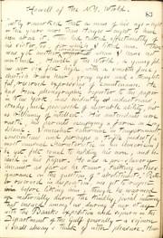 Thomas Butler Gunn Diaries: Volume 21, page 90, December 4, 1862