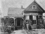 Evolution of the Negro home; Residence of a Negro minister, Decatur