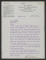 General Correspondence of the Director, Last Name C, 1915