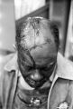 Collins Harris, a farmer and civil rights leader in Crenshaw County, Alabama, after being beaten during a demonstration at Helicon Junior High School.