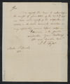 Governors' Papers: Benjamin Smith Correspondence, March 1811