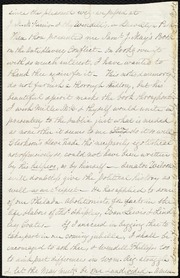 Letter to] My dear long-loved William Lloyd Garrison [manuscript