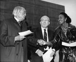 H. Claude Hudson, Augustus Hawkins, and Yvonne Brathwaite Burke, Los Angeles