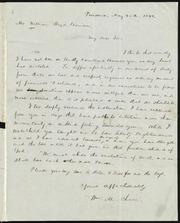 Letter to] Mr. William Lloyd Garrison, My dear Sir [manuscript