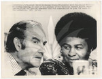 Dr. George Wiley with Sen. George McGovern