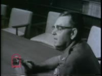 WSB-TV newsfilm clip of a Georgia Highway Patrolman talking about riot control in Savannah, Georgia, 1963