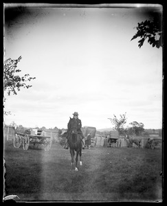 General Blackmar at Hingham Fair 1898